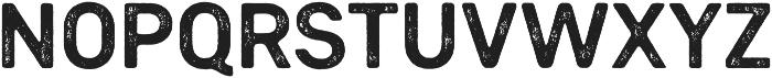 Heiders Sans Bold R 2 Bold otf (700) Font LOWERCASE