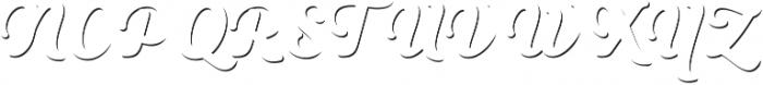 Heiders Script Bold C Sh1 Bold otf (700) Font UPPERCASE