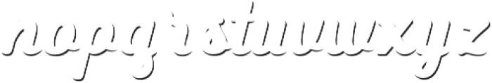 Heiders Script Bold C Sh1 Bold otf (700) Font LOWERCASE