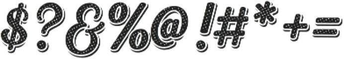Heiders Script Bold R 3 Sh Bold otf (700) Font OTHER CHARS
