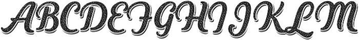 Heiders Script Bold R 3 Sh Bold otf (700) Font UPPERCASE