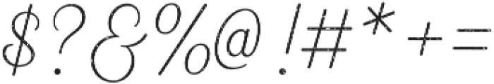 Heiders Script Ext Light R 1 Ext Light otf (300) Font OTHER CHARS
