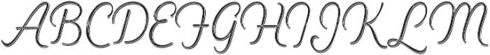 Heiders Script Ext Light R 2 Sh Ext Light otf (300) Font UPPERCASE