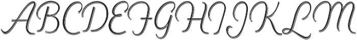 Heiders Script Ext Light R Sh Ext Light otf (300) Font UPPERCASE
