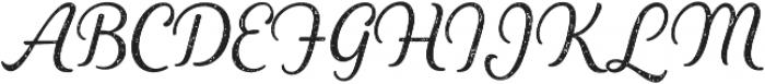 Heiders Script Light R 1 Light otf (300) Font UPPERCASE