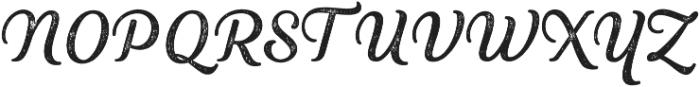 Heiders Script Regular R 2 Regular otf (400) Font UPPERCASE