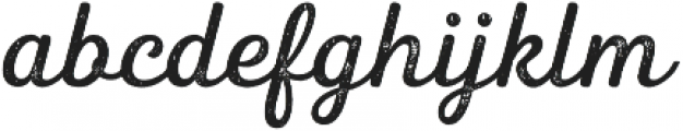 Heiders Script Regular R 2 Regular otf (400) Font LOWERCASE