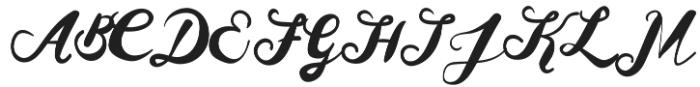 Heiger otf (400) Font UPPERCASE