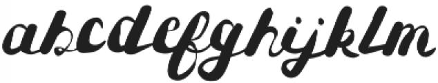 Heiger otf (400) Font LOWERCASE