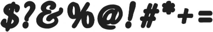 Heirloom Artcraft Black Italic otf (900) Font OTHER CHARS