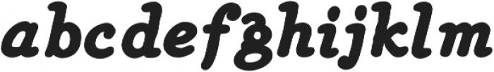 Heirloom Artcraft Black Italic otf (900) Font LOWERCASE