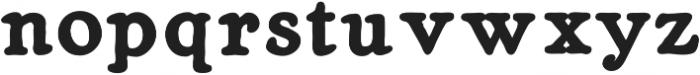Heirloom Artcraft Black otf (900) Font LOWERCASE