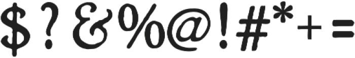 Heirloom Artcraft DemiBold otf (600) Font OTHER CHARS