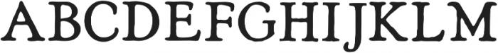 Heirloom Artcraft DemiBold otf (600) Font UPPERCASE