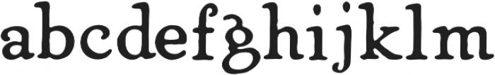 Heirloom Artcraft DemiBold otf (600) Font LOWERCASE