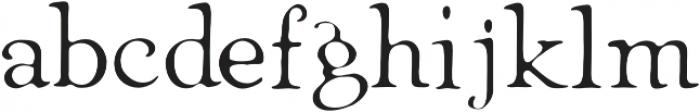 Heirloom Artcraft Thin otf (100) Font LOWERCASE