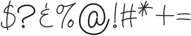 HelenaHandwritten ttf (400) Font OTHER CHARS