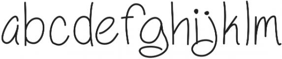 HelenaHandwritten ttf (400) Font LOWERCASE