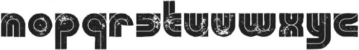 HelgaGrunge otf (400) Font LOWERCASE