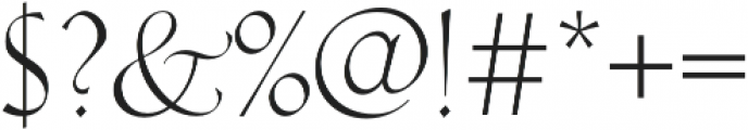 Hellen otf (400) Font OTHER CHARS