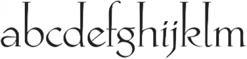 Hellen otf (400) Font LOWERCASE