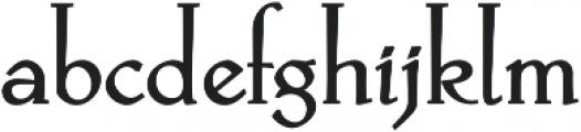 Hellen otf (700) Font LOWERCASE