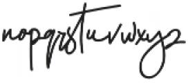 Hellena Jeslyn Script otf (400) Font LOWERCASE