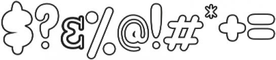 Hellioum otf (400) Font OTHER CHARS