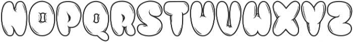 Hellioum otf (400) Font UPPERCASE