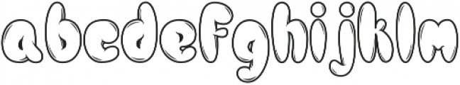 Hellioum otf (400) Font LOWERCASE