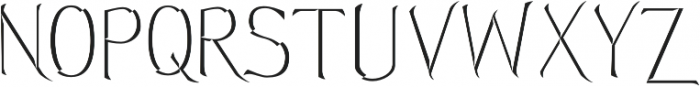 Hellmuth Beveled otf (400) Font UPPERCASE
