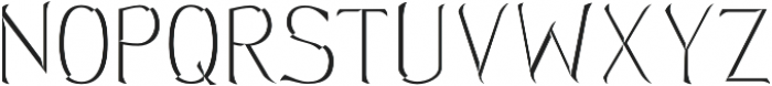 Hellmuth Beveled otf (400) Font LOWERCASE