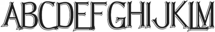 Hellmuth Shadow otf (400) Font UPPERCASE