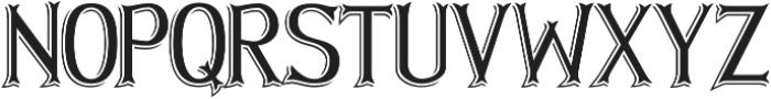Hellmuth Shadow otf (400) Font LOWERCASE