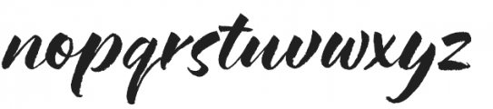 Hello Bloomie SVG otf (400) Font LOWERCASE
