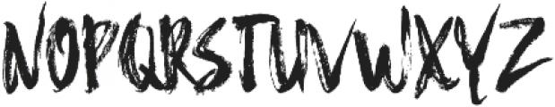 Hello Brush ttf (400) Font UPPERCASE