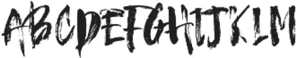 Hello Brush ttf (400) Font LOWERCASE