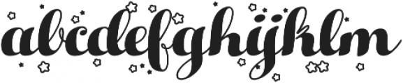 Hello Christmas otf (400) Font LOWERCASE