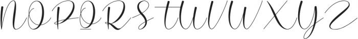 Hello Cristina Regular ttf (400) Font UPPERCASE
