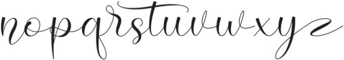 Hello Cristina Regular ttf (400) Font LOWERCASE