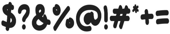 Hello Funyla Bold otf (700) Font OTHER CHARS