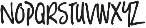 Hello Lucky otf (400) Font LOWERCASE