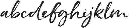 Hello Pretty otf (400) Font LOWERCASE