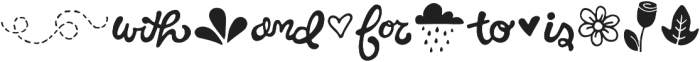Hello Spring Extras otf (400) Font LOWERCASE