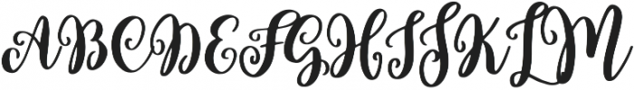Hello Wedding otf (400) Font UPPERCASE