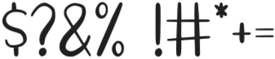 HelloStar otf (400) Font OTHER CHARS