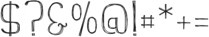 Hellowins otf (400) Font OTHER CHARS