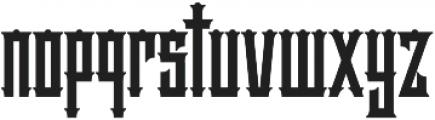 Hellter VMF otf (400) Font LOWERCASE