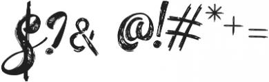 Hellvina Hand Script Regular otf (400) Font OTHER CHARS