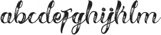 Hellvina Hand Script Regular otf (400) Font LOWERCASE